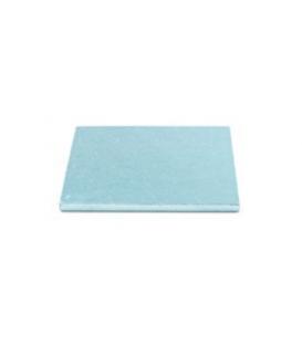 Sottotorta Vassoio Rigido Quadrato Azzurro H 1,2 cm
