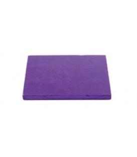 Sottotorta Vassoio Rigido Quadrato Viola H 1,2 cm