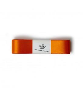 Nastro a Matassina Doppio Raso Arancione 25 mm x 3 mt
