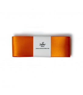 Nastro a Matassina Doppio Raso Arancione 40 mm x 3 mt