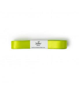 Nastro a Matassina Doppio Raso Verde Mela 15 mm x 5 mt