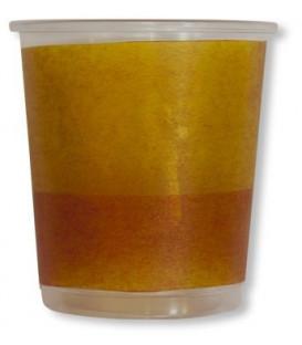 Bicchieri di Plastica PPL Bicolore Giallo - Arancione 250 cc