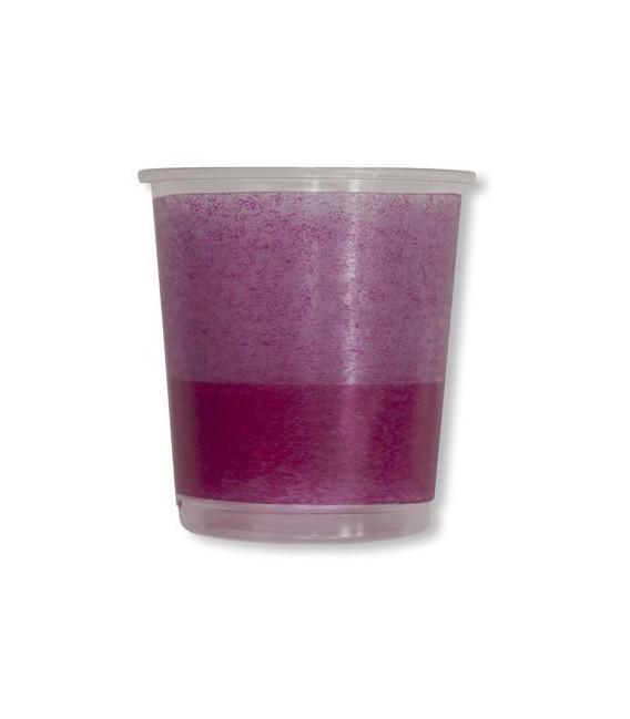 Bicchieri di Plastica Bicolore Lilla - Prugna 250 cc