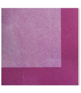 Tovaglioli 3 Veli Bicolore Pink - Lilla 3 confezioni