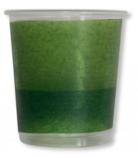 Bicchieri di Plastica PPL Bicolore Verde - Verde Scuro 250 cc