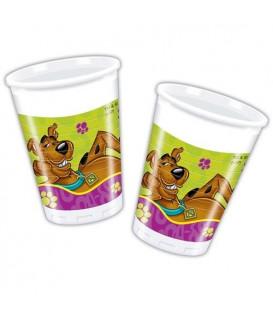 Bicchieri plastica 180/200 cc Scooby Doo Fun Disney