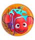 Piatto Piano Grande di Carta 23 cm Alla ricerca di Nemo Disney Pixar