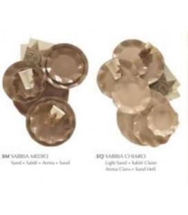 Piatti Piani di Carta a Petalo Sabbia Medio 32,4 cm
