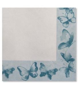 Tovaglioli Farfalla Verde 33 x 33 cm 3 confezioni