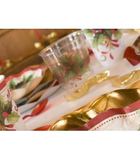 Bicchieri di Plastica Tradition Agrifoglio 300 cc 3 confezioni