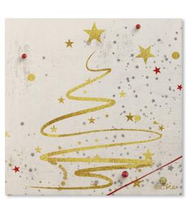 Tovaglioli 3 Veli Golden Tree 33 x 33 cm - 3 confezioni