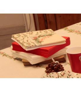 Tovaglioli Shabby Christmas 33 x 33 cm