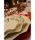 Piatti Fondi di Carta a Petalo Natale Decoration 24 cm