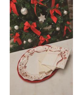 Piatti Piani di Carta a Petalo Holly 27 cm
