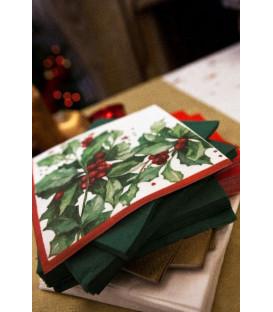 Tovaglioli 3 veli Christmas Style 33x33 cm 3 confezioni