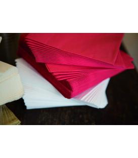 Tovaglioli 3 Veli Rosso 3 confezioni 25x25 cm