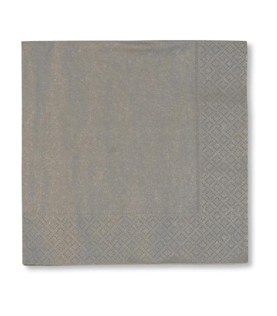 Tovaglioli 3 Veli Argento 3 confezioni 40x40 cm