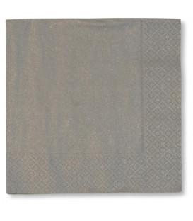 Tovaglioli Argento 40 x 40 cm 3 confezioni