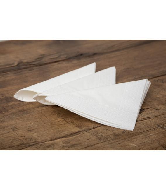 Tovaglioli Bianco 40 x 40 cm 3 confezioni