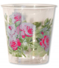 Bicchieri di Plastica Eden Rosa 300 cc