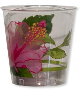 Bicchieri di Plastica Ibiscus 300 cc 3 confezioni