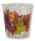 Bicchieri di Plastica 300 cc Autunno Grapes 3 confezioni