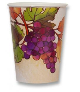 Bicchieri di Carta Autunno Grapes 250 cc