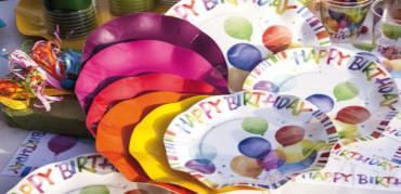 Patti di carta Happy Birthday