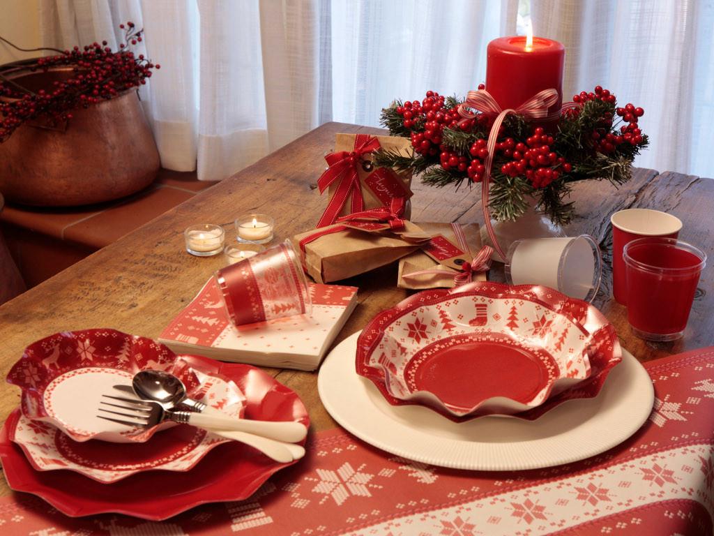Natale a Punto Croce sulla tavola